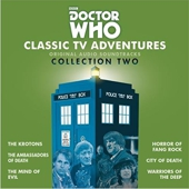 Classic TV Adventures Collection Two CD Cover