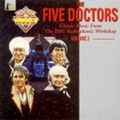 Doctor Who - The Five Doctors CD Cover
