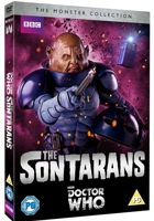 The Monster Collection - The Sontarans Cover