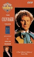 Colin Baker Years VHS Video Cover