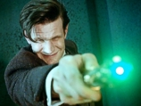 The Doctor Using His Sonic Screwdriver